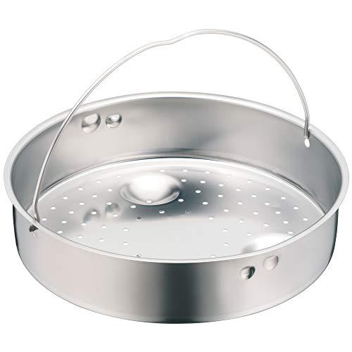 WMF Schnellkochtopf-Zubehör, Dampfer-Einsatz 4 cm, gelocht, für Schnellkochtopfe 2,5 l, 18 cm, Cromargan Edelstahl, spülmaschinengeeignet