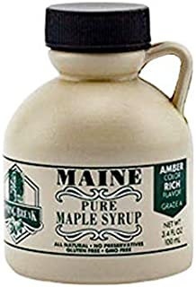 Spring Break Pure Maine Maple Syrup 3.4 oz. Dark Robust