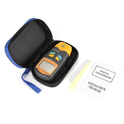 Matthew00Felix DT2234C+ LCD Digital Mini Non-contact Laser Photo Tachometer RPM Speed Tester