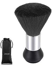 JewelryWe Cepillo de Cuello Negro Cepillo Para Corte de Cabello, Cepillo para Peluquería Tacto Suave