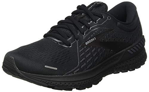 Brooks Adrenaline GTS 21, Zapatillas para Correr Hombre, Black Black Ebony, 46 EU