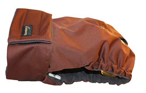 Glenndarcy Hündin Windel - Verstellbare Flexi-Hose - (Size Large to XXL Pants & 2 Washable Pads, Coffee)