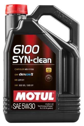 MOTUL Lubricante para Motor 5W30 C3 6100 Syn-Clean