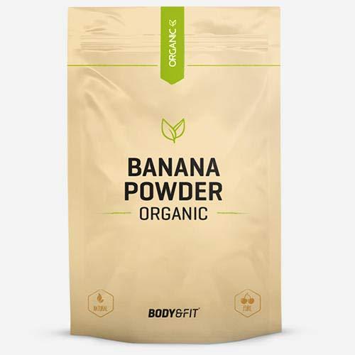 Body & Fit Bananenpulver Biologisch Banane 500 gramm