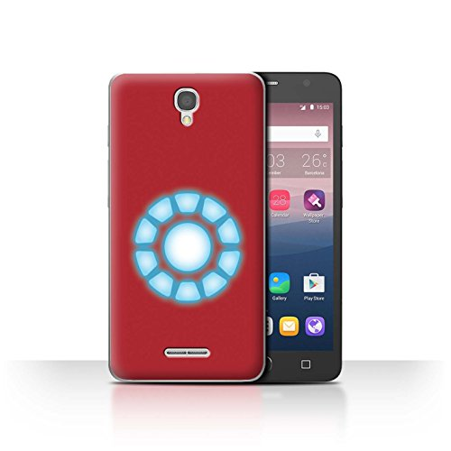 Stuff4 Var voor JP-MARVEL Alcatel Pop Star 3G Arc Reactor Core
