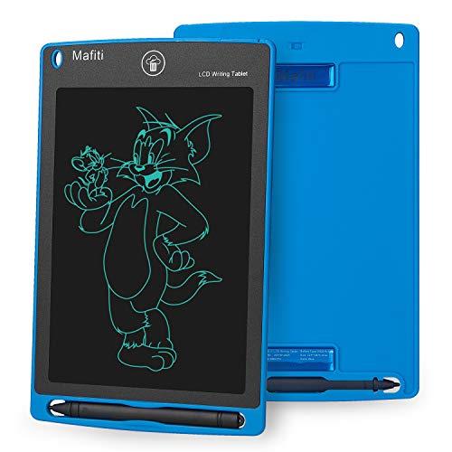 Mafiti 8,5 Pulgadas Tableta Gráfica, Tablets de Escritura LCD, Portátil Tableta de Dibujo Adecuada para el hogar, Escuela, Oficina (Blue) ✅