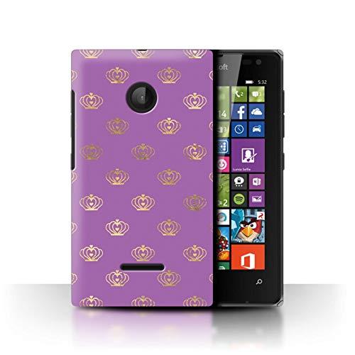 eSwish Hülle/Hülle für Microsoft Lumia 532 / Moderner Stil Königtum Muster/Magische Prinzessin Muster Kollektion