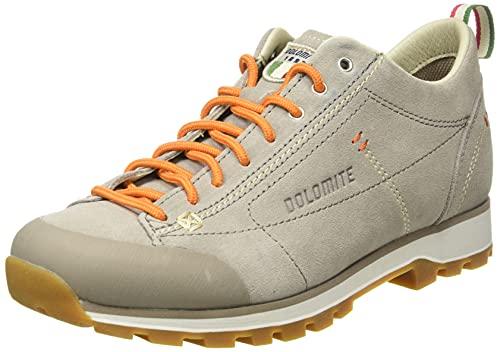Dolomite Zapato Cinquantaquattro Low W, Zapatillas Mujer, Gris Tortola/Salmon, 40 2/3 EU