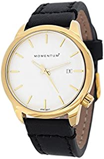 Momentum Women's 1M-SP13W2B LOGIC SS Analog Display Japanese Quartz Black Watch