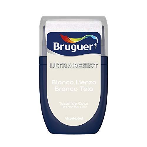 Bruguer Tester ULTRA RESIST Pintura para paredes ultra lavable Blanco Lienzo, 0.030 litros