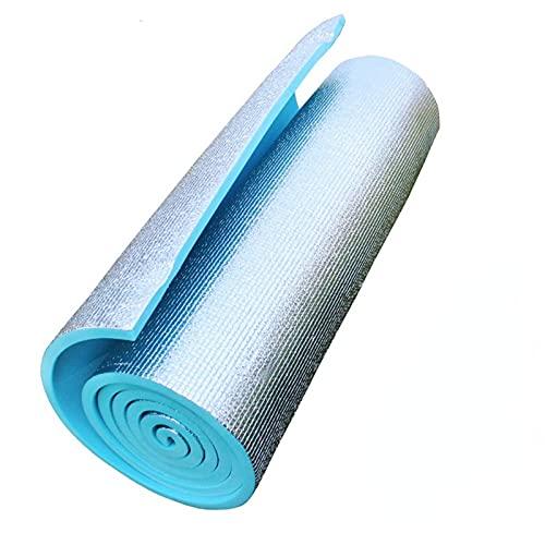 Esterilla de yoga de 6 mm de EVA duradera Esterilla de ejercicio de fitness antideslizante Esterillas de yoga para perder peso Ejercicio Fitness plegable estera de gimnasia para fitness