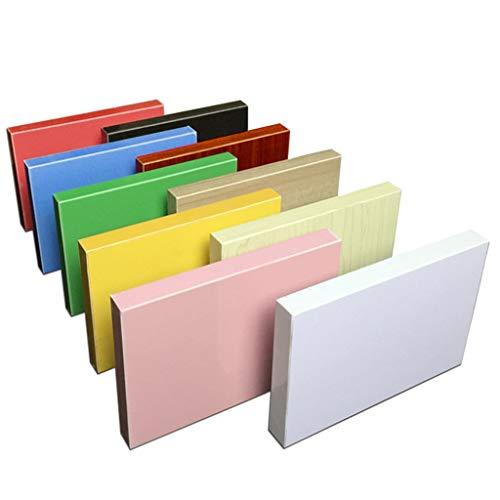 YXNN Wandregale Dichte Brett Schwimm Wall Display Regale Startseite Heavy Duty Storage Rack for Sky Box DVD-Spieler Fotorahmen Nursery Dekoration (Color : Pink, Size : 20x40cm)