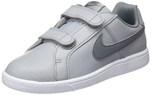 Nike Jungen Court Royale (PS) Sneaker, Grau (Wolf Grey/cool Grey White), 31 EU