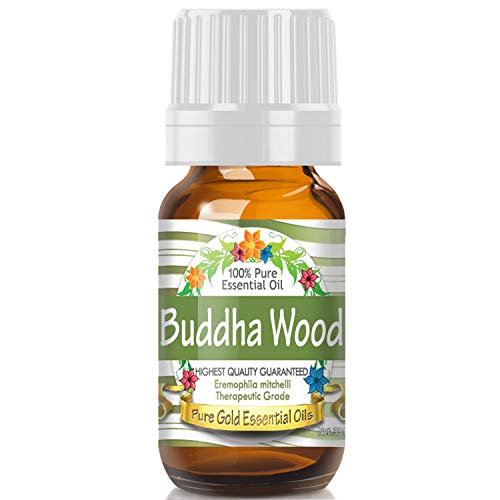 Pure Gold Buddha Wood Essential Oil, 100% Natural & Undiluted, 10ml