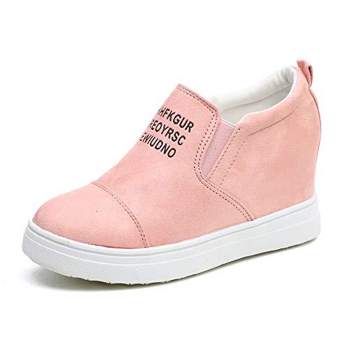 Zapatos Mujer Moda Mujer Damas Tobillo Carta Cuñas