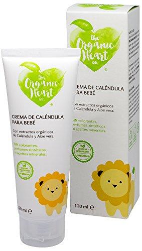 Crema De Caléndula Para Bebé The Organic Heart Co 120 ml