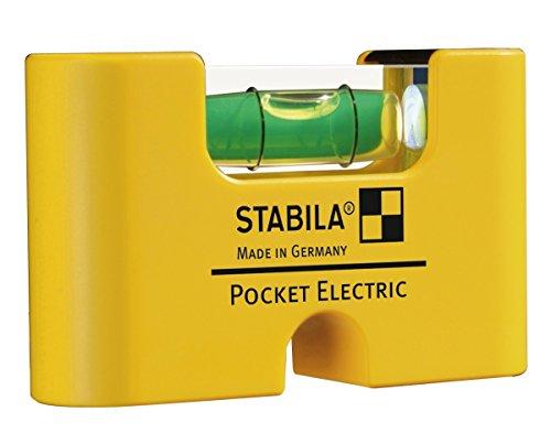 STABILA Wasserwaage Pocket Electric, 7...