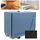KAUTO Generatore di Vapore 6KW per Sauna Bagno Turco Doccia 6m & sup3;con Temperatura del Controller Digitale e Tempo Regolabile 35-55 鈩? 10min-8h 220V CE