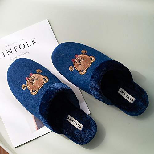 pantofole uomo orso ZHRDRJB Pantofole Cotone Uomo Slippers