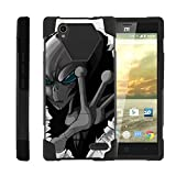 TurtleArmor | Compatible with ZTE Warp Elite Case | N9518 [Dynamic Shell] Hard Shell Soft Silicone...