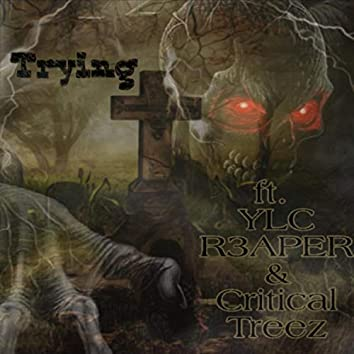 Trying (feat. YLC R3aper & Critical Treez)