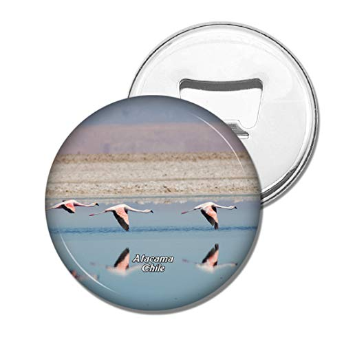 Weekino Flamingo Salt Lake Atacama Chili Bière Ouvre-Bouteille Aimant De Réfrigérateur Voyage Souvenir Autocollant de réfrigérateur Fort