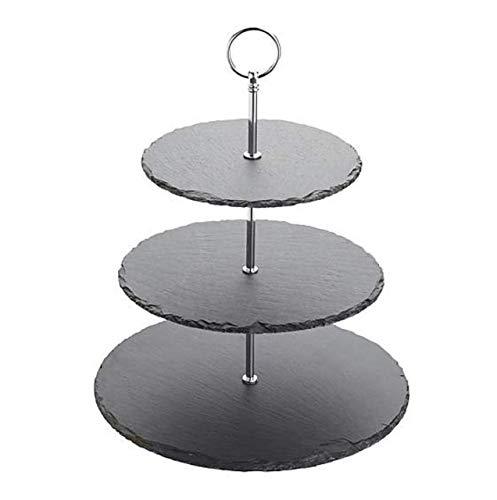 Contemporary Artesa - Soporte para tartas de 3 niveles (29 x 29 x 35 cm)