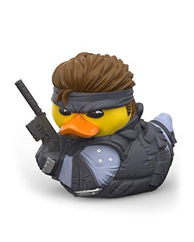 TUBBZ Metal Gear Solid Snake Figurine de Canard en Caoutchouc à Collectionner - Marchandise Officielle Metal Gear Solid - Édition limitée Unique