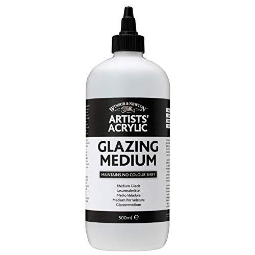 Winsor & Newton - Medium acrilico lucido, 500 ml