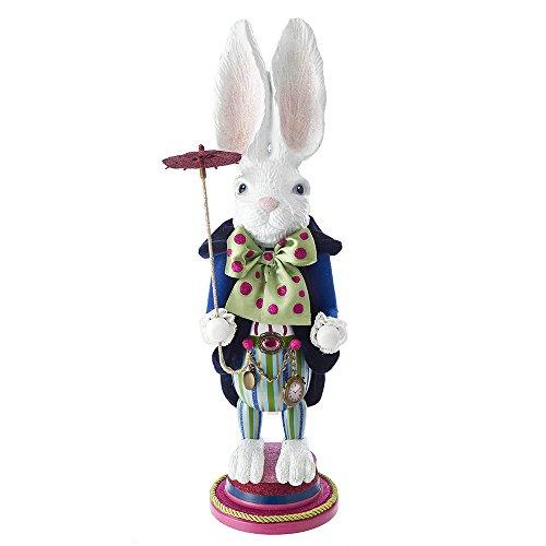 """Kurt S. Adler 18"""" Hollywood White Rabbit Nussknacker, Mehrfarbig, Standard"""