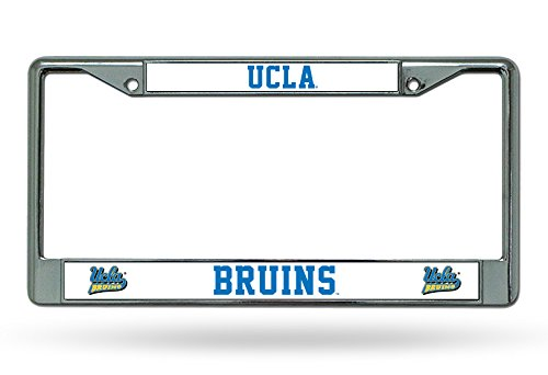 Rico Industries NCAA UCLA Bruins Chrome License Plate Frame