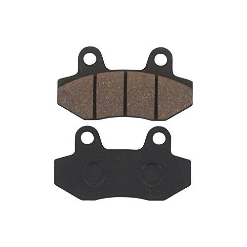 Xfight-Parts Bremsbelag Satz vorne ohne Widerlager Bremszange (Doppelkolben) 77.3x42.2x7mm 4Takt 125ccm YY125T-28 REX RS 1100