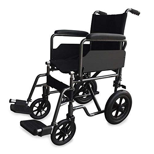 Mobiclinic, Modelo S230, Silla de ruedas para minusválidos, silla de ruedas de tránsito, plegable, ortopédica,...