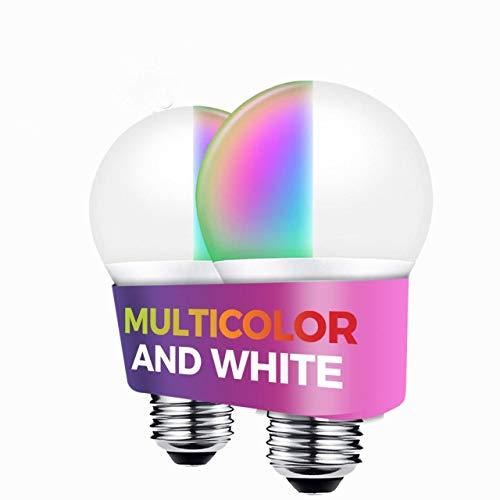 Premier Accessory Group Smart Bulb Alexa Google Home Certified Compatible 1050 Lumens Smarthome Wireless Lightbulbs 11W WiFi Comfort Set, 2 Packs Smartphone App Enabled E26 Medium Base, White