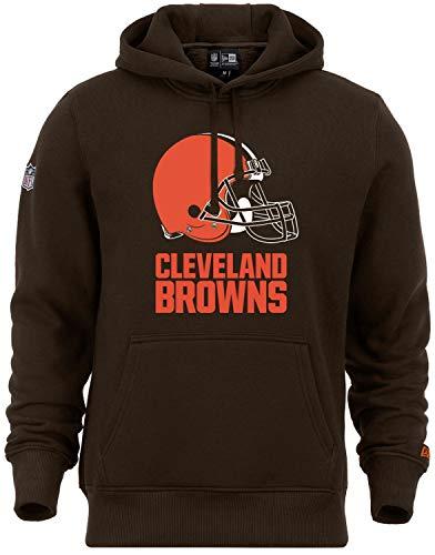 New Era - NFL Cleveland Browns Team Logo Hoodie - Braun Größe M, Farbe Braun