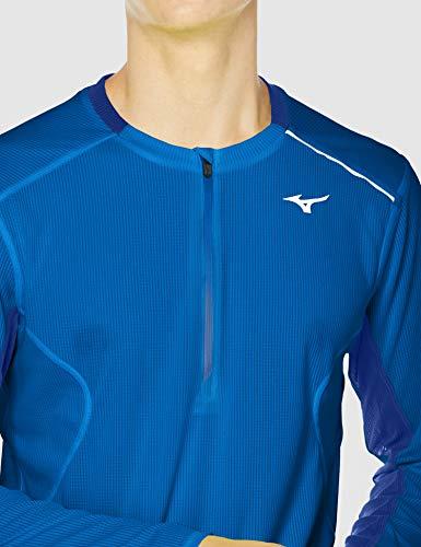 MIZUNO(ミズノ)『ドライエアロフローハーフジップシャツ(J2MA0520)』