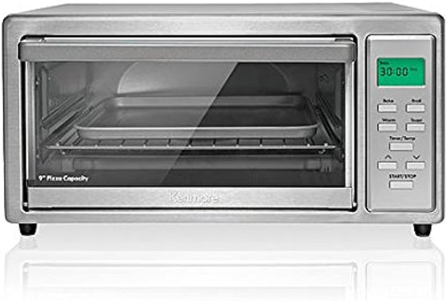 Kenmore 4-slice Stainless Steel Toaster Oven