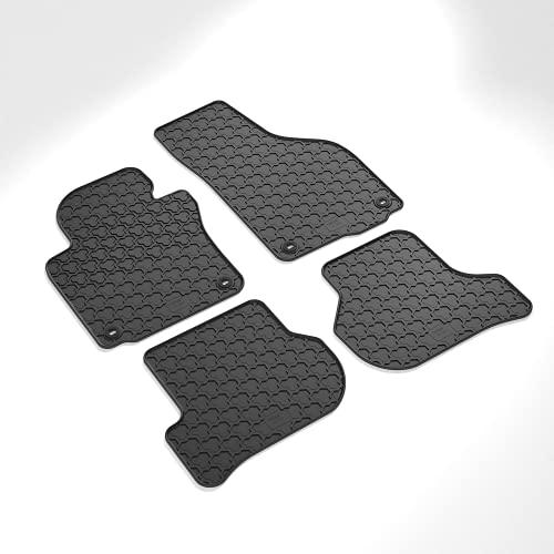 CARMAT Gummimatten Wintermatten passend für Vw Golf V und VI