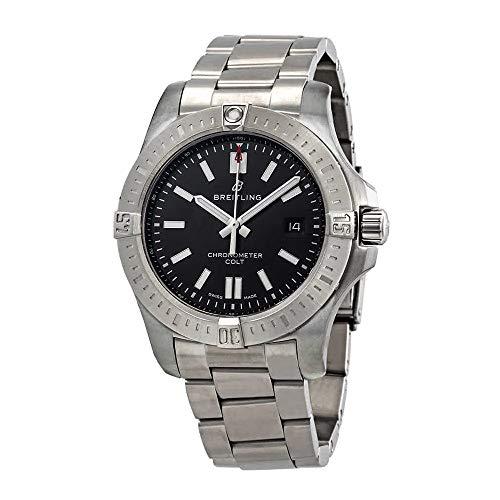 Breitling Chronomat Colt reloj automático 44 esfera negra para hombre (ref: A17388101B1A1)