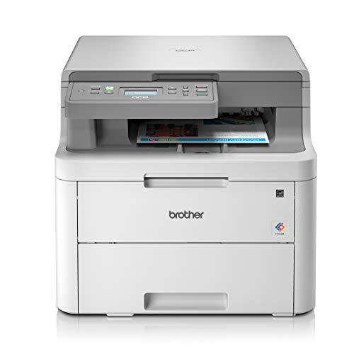 Brother DCP-L3510CDW Imprimante multifonctions 3 en 1 Laser | Couleur | Silencieuse | Impression recto-verso | 18ppm| Wi-Fi/ Wi-Fi direct