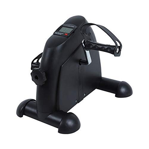 Thuis Mini Ouderen Pedal Trimfiets Been Rehabilitation Trainer Ouderen Hometrainer,Black
