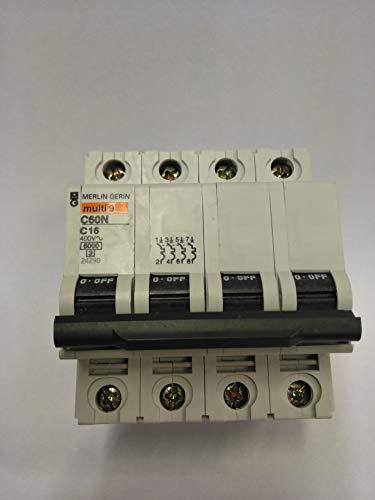 Schneider Electric Ic60N C-Type 2P Interruttore Automatico