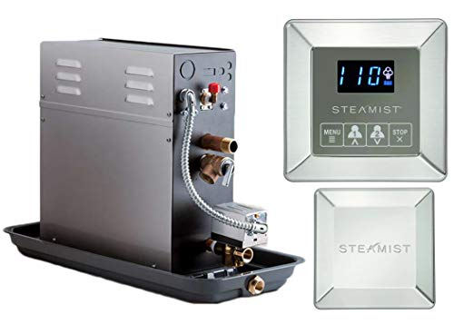 Best Review Of 10 KW Steam Bath Generator Steamist SMP-10 with 250 Digital Time and Temperature Cont...