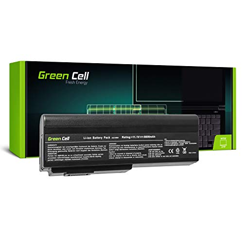 Green Cell Extended Serie A32-M50 A32-N61 Batteria per Portatile ASUS G50 G50V G51 G51J G51VX G60 G60JX L50 M50 M50S M50SV M50V M50VC M60 X57 X57V (9 Pile 6600mAh 11.1V Nero)