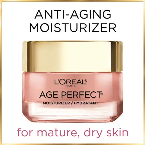 41JJd6zCm8L - Face Moisturizer by L'Oreal Paris Skin Care I Age Perfect Rosy Tone Moisturizer for Visibly Younger Looking Skin I Anti-Aging Day Cream I 1.7 oz. - Packaging May Vary