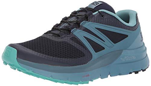 Salomon Sense Max 2 Shoes Women Navy Blazer/Bluestone/nile Blue Schuhgröße UK 8 | EU 42 2019 Laufsport Schuhe
