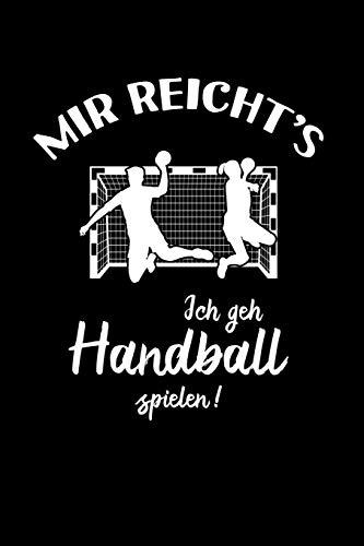 Handballer: Ich geh Handball spielen!: Notizbuch / Notizheft für Handball-Spieler-in A5 (6x9in) liniert mit Linien
