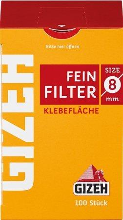 Gizeh Feinfilter 8mm Inhalt 10 x 100 pro Packung