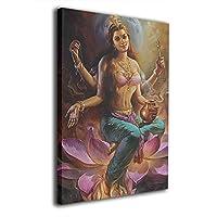 Skydoor J パネル ポスターフレーム ヒンドゥー教 絵画 インテリア アートフレーム 額 モダン 壁掛けポスタ アート 壁アート 壁掛け絵画 装飾画 かべ飾り 30×20