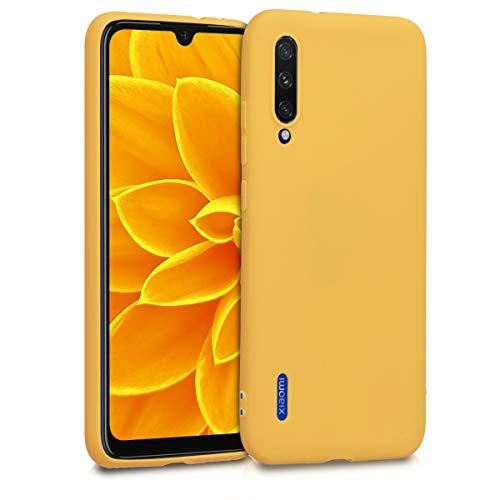 kwmobile Cover Compatibile con Xiaomi Mi A3 / CC9e - Custodia in Silicone TPU - Backcover Protezione Posteriore- Miele